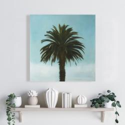 Canvas 24 x 24 - Tropical palm