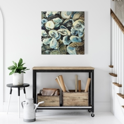Canvas 24 x 24 - Oyster shells