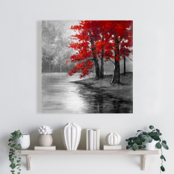 Canvas 24 x 24 - Peaceful view