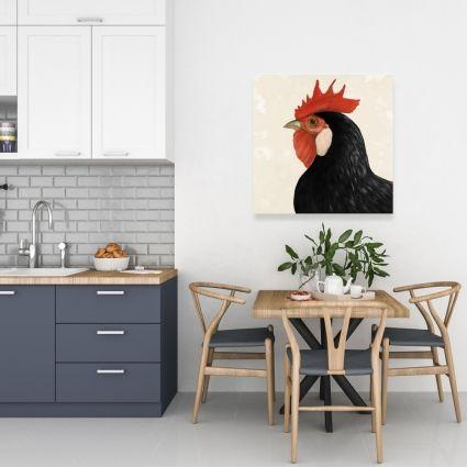 Beautilful black hen