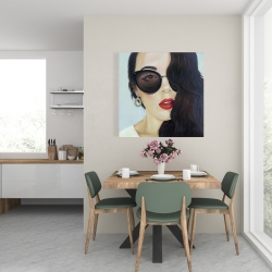 Canvas 24 x 24 - Fashionable sunglasses
