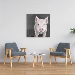 Canvas 24 x 24 - Little piglet