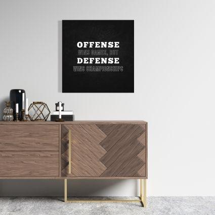 Offense wins games...