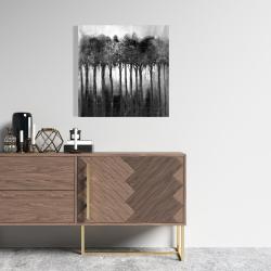 Canvas 24 x 24 - Monochrome trees