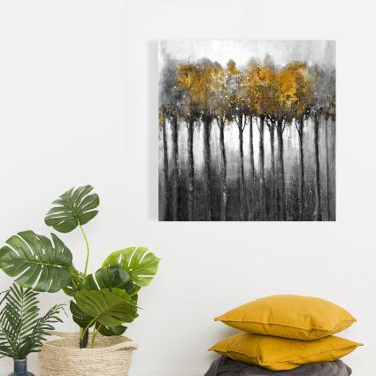 Forêt illuminée