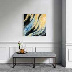 Canvas 24 x 24 - Wavy wave