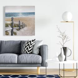 Canvas 24 x 24 - Soft seaside