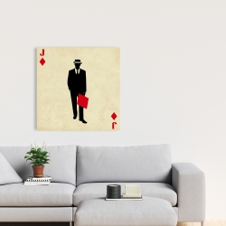 Canvas 24 x 24 - Jack of diamonds