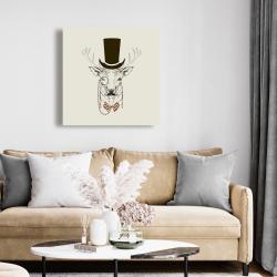Canvas 24 x 24 - Aristocrat roe deer