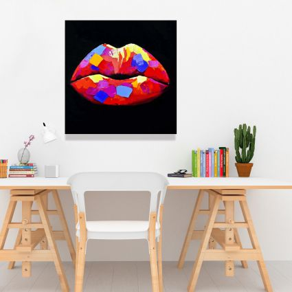 Colorful lipstick
