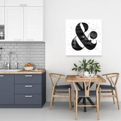 Canvas 24 x 24 - Ampersand