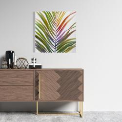 Toile 24 x 24 - Feuille de palmier tropical