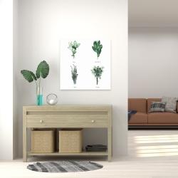 Canvas 24 x 24 - Fine herbs