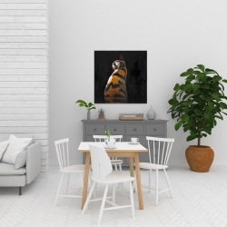 Canvas 24 x 24 - Spotted cat