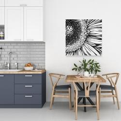 Canvas 24 x 24 - Gerbera flower