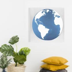 Canvas 24 x 24 - The earth