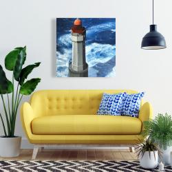 Canvas 24 x 24 - The headlight of jument
