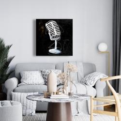 Canvas 24 x 24 - Microphone