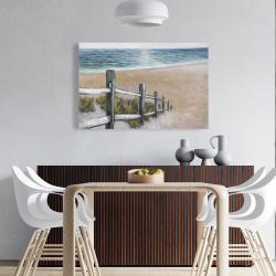 Canvas 24 x 36 - Soft seaside