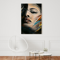 Canvas 24 x 36 - Abstract woman portrait