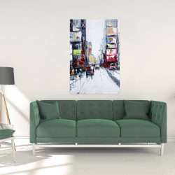 Canvas 24 x 36 - Time square