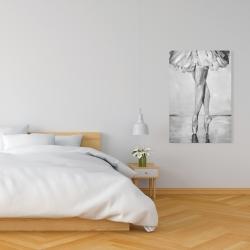 Canvas 24 x 36 - Ballet classic steps
