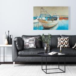 Toile 24 x 36 - Bateau de pêche