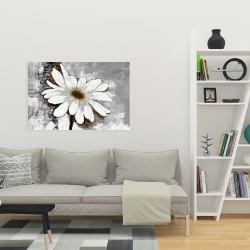 Canvas 24 x 36 - Abstract daisy
