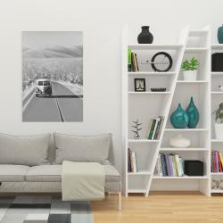 Canvas 24 x 36 - Car on the road again
