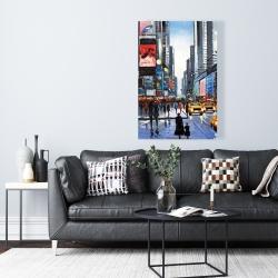 Canvas 24 x 36 - Peak hour