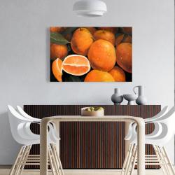 Canvas 24 x 36 - Fresh oranges