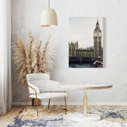 Canvas 24 x 36 - Big ben clock elizabeth tower in london