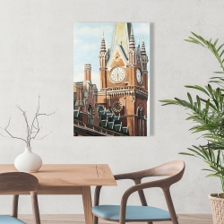 Canvas 24 x 36 - St-pancras station in london