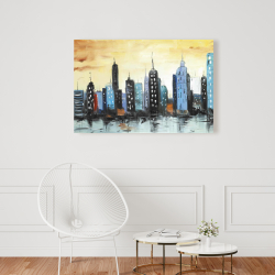 Toile 24 x 36 - Horizon du paysage urbain