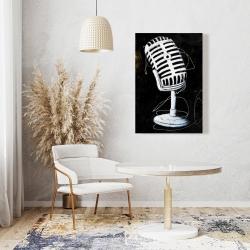 Canvas 24 x 36 - Microphone