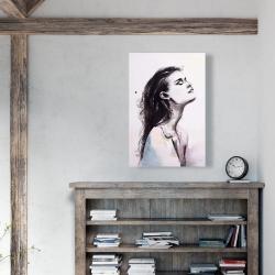 Canvas 24 x 36 - Bare skin