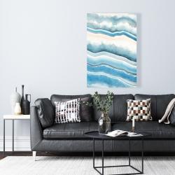 Canvas 24 x 36 - Textured geode
