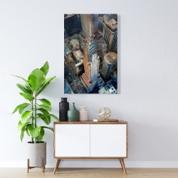 Canvas 24 x 36 - Chrysler building at nyc