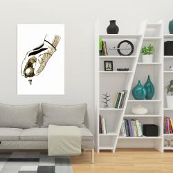 Canvas 24 x 36 - Illustration of a golf glove