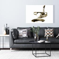 Canvas 24 x 36 - Illustration of a birdie