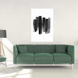 Canvas 24 x 36 - Black shapes