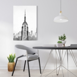 Canvas 24 x 36 - Empire state building