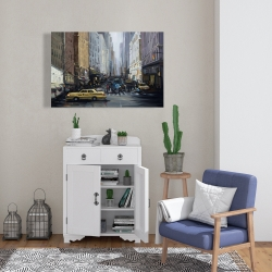 Canvas 24 x 36 - In the city