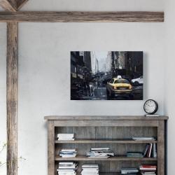 Canvas 24 x 36 - New york in the dark