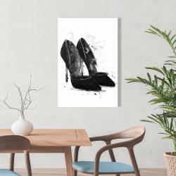 Canvas 24 x 36 - Black pumps