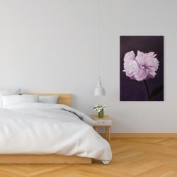 Toile 24 x 36 - Magnifique fleur mauve