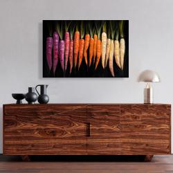 Canvas 24 x 36 - Colorful carrots