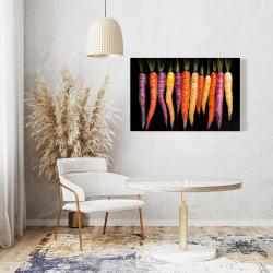 Canvas 24 x 36 - Carrots varieties