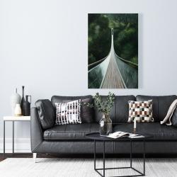 Canvas 24 x 36 - Steep bridge