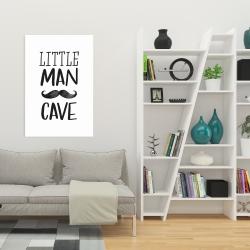 Canvas 24 x 36 - Little man cave